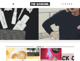 thegoodowl.co.uk screenshot