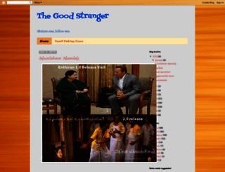 thegoodstranger.blogspot.com screenshot