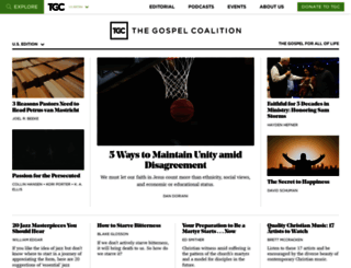 thegospelcoalition.org screenshot