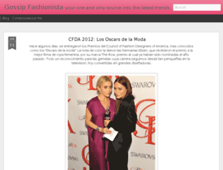 thegossipfashionista.blogspot.com screenshot