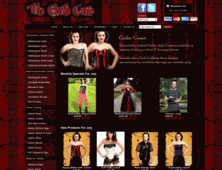 thegothcode.co.uk screenshot