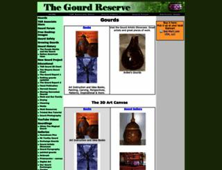 thegourdreserve.com screenshot