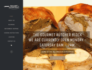 thegourmetbutcherblock.com screenshot