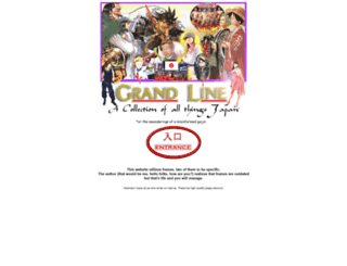 thegrandline.com screenshot