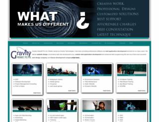 thegravitytechnologies.com screenshot
