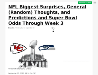 thegraybull.sportsblog.com screenshot