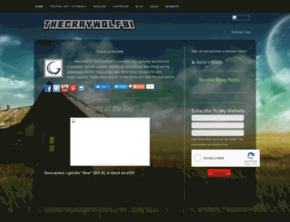 thegraywolf81.webs.com screenshot
