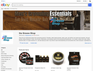 thegreaseshop.com screenshot