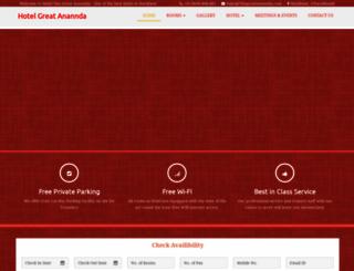 thegreatananda.com screenshot