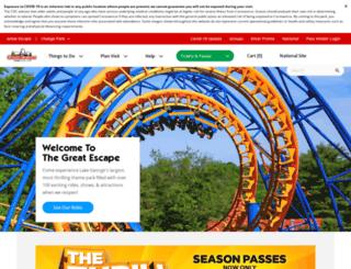 thegreatescape.com screenshot