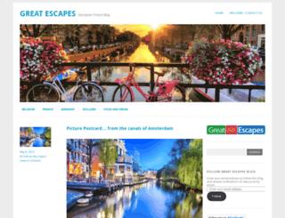 thegreatescapesblog.wordpress.com screenshot