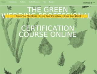 thegreenbrideguide.com screenshot