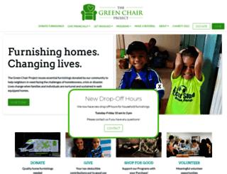 thegreenchair.org screenshot