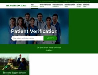 thegreendoctors.com screenshot