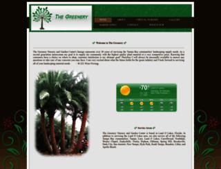 thegreeneryoftampabay.com screenshot