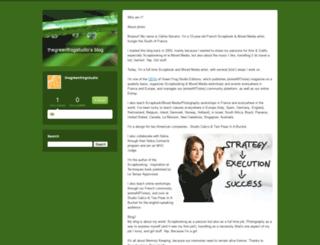 thegreenfrogstudio.typepad.com screenshot