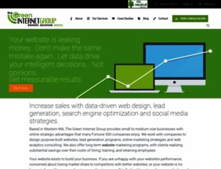 thegreeninternetgroup.com screenshot