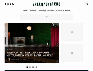 thegreenpointers.com screenshot