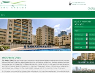 thegreensdubai.com screenshot