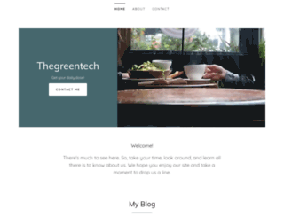 thegreentech.in screenshot