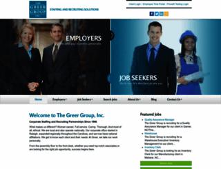 thegreergroup.com screenshot