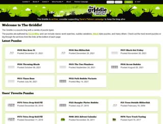 thegriddle.net screenshot