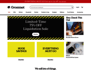thegrommet.com screenshot