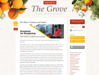 thegrove.valenciacollege.edu screenshot