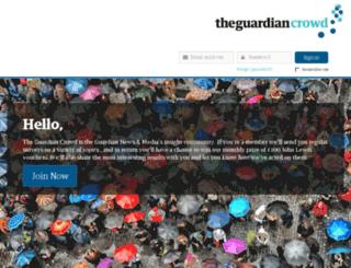 theguardiancrowd.com screenshot