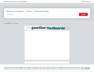 theguardiantheobserver.newsprints.co.uk screenshot