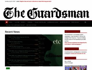 theguardsman.com screenshot