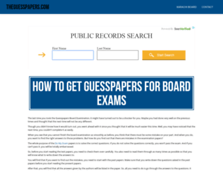 theguesspapers.com screenshot