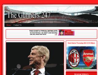 thegunners247.uk screenshot