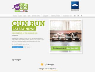 thegunrun.co.za screenshot