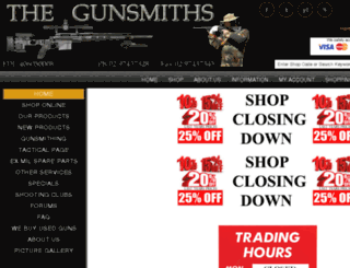 thegunsmiths.com.au screenshot