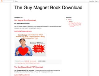 theguymagnetbookdownload.blogspot.com screenshot