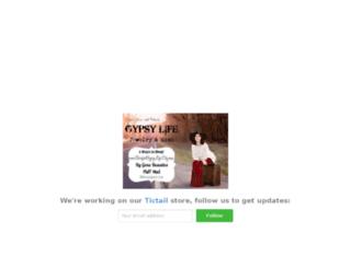 thegypsylife.tictail.com screenshot