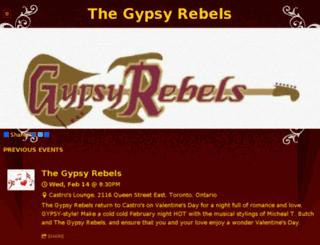 thegypsyrebels.com screenshot