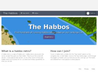thehabbos.net screenshot