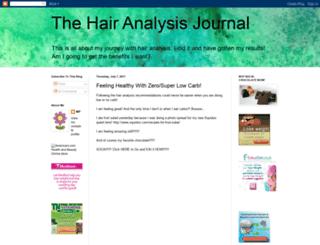 thehairanalysisjournal.blogspot.com screenshot