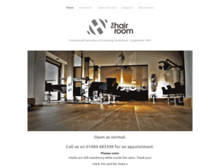 thehairroom.co.uk screenshot