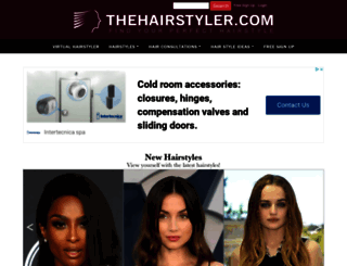 thehairstyler.com screenshot