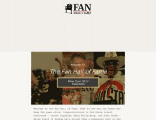 thehalloffans.com screenshot