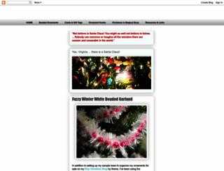 thehandcraftedchristmas.blogspot.ca screenshot
