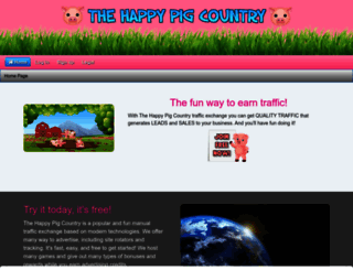 thehappypigcountry.com screenshot