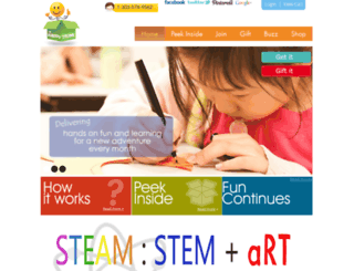thehappytrunk.com screenshot