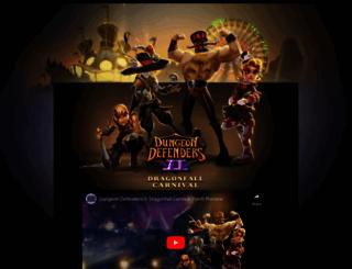 theharbingerawakens.dungeondefenders2.com screenshot