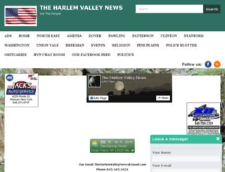 theharlemvalleynews.com screenshot