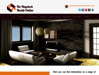 thehaystackneedleonline.com screenshot