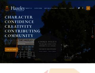 thehazeleyacademy.com screenshot